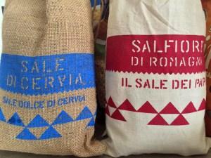 Sale de Cervia in Emilia Romagna.
