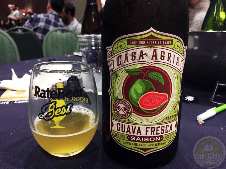 Guava Fresca by Casa Agria Specialty Ales