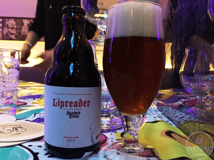 Lipreader by Butcher's Tears of Amsterdam, the Netherlands