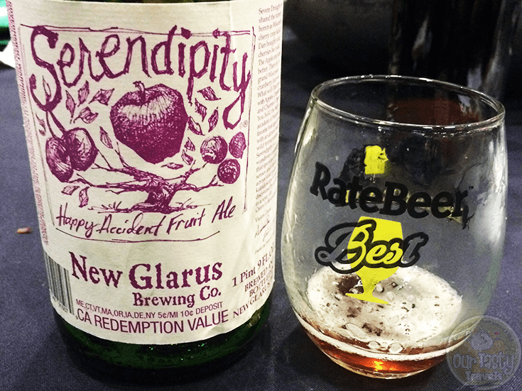 Serendipity by New Glarus Brewing Company