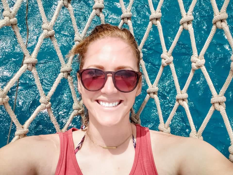 Over water hammock