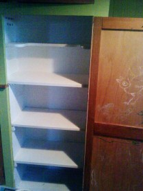 Painted Pantry.