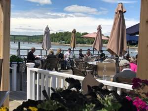 Nautilus-Restaurant-Belfast-Maine-Flower-Ocean-View