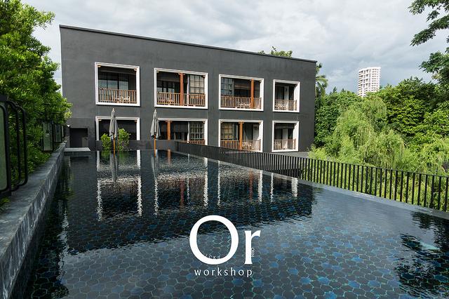 [泰國|住宿] 中國風與現代設計的融合,清邁 Hotel Des Artists Ping Silhouette 平西盧艾特藝術家飯店