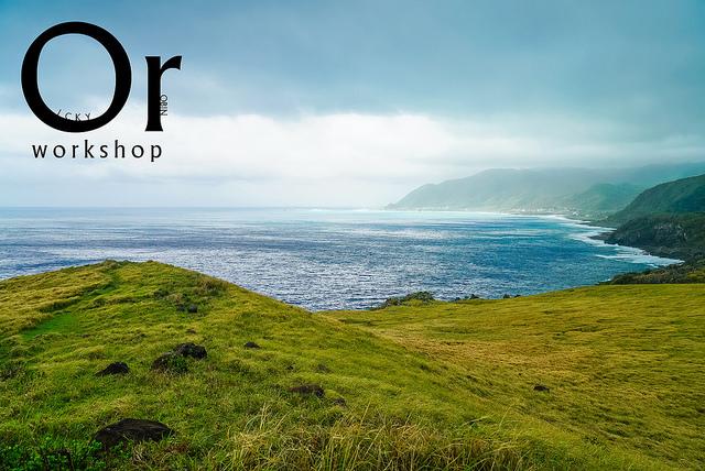 [臺東蘭嶼|景點] 被狗狗搭上了便車,一起在海邊的草原上散步,蘭嶼青青草原