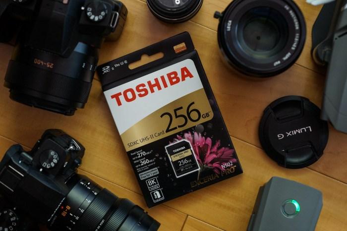 攝影周邊開箱|TOSHIBA EXCERIA PRO N502 記憶卡,輕鬆寫入8K影片,更大容量更順暢