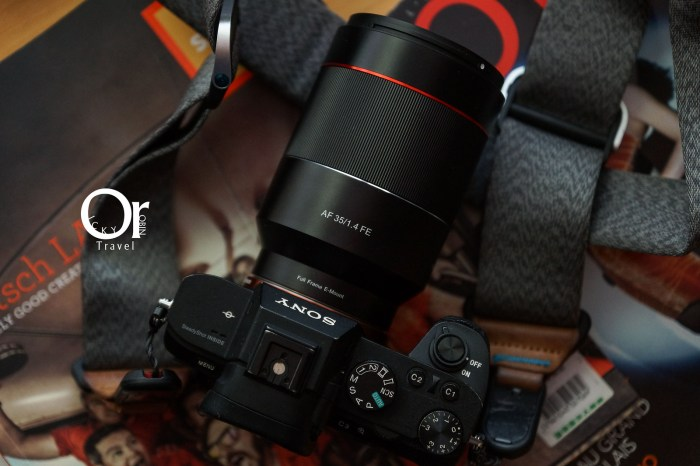 Samyang鏡頭評測|三陽光學 Samyang AF 35mm F1.4 FE 評測,大光圈街拍必備,平價全幅人像鏡,支援 Sony E接環自動對焦