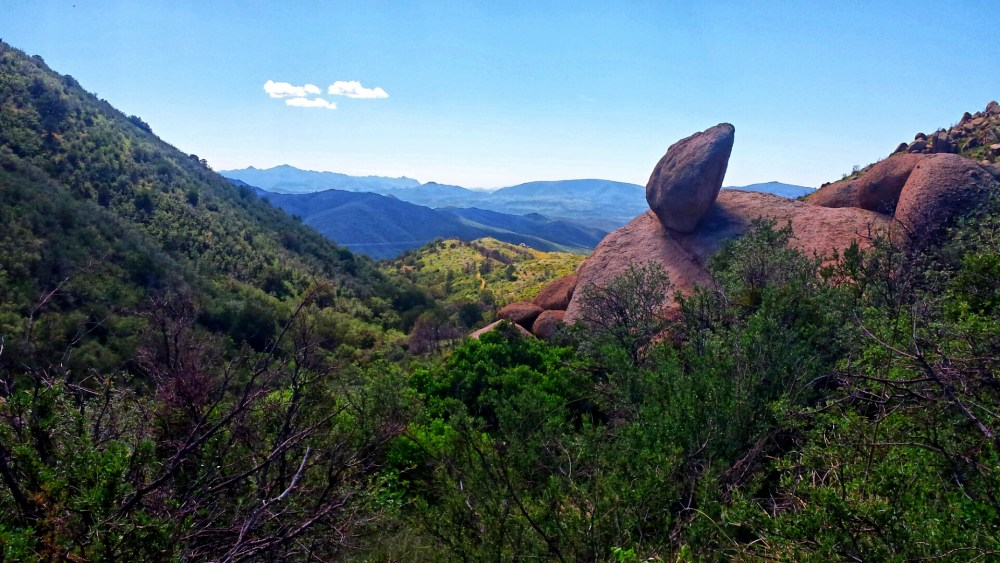 Vistas along the trail offer spectacular views