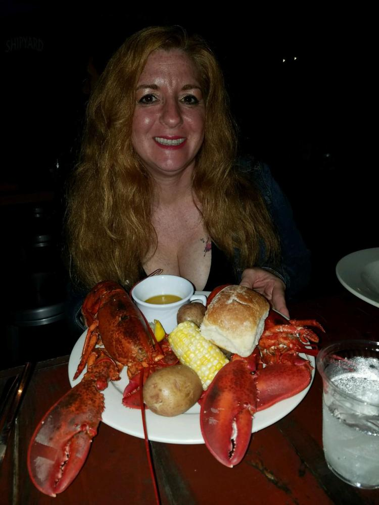 The only thing better than a lobster dinner is a two lobster dinner - Twin lobsters at The Porhole