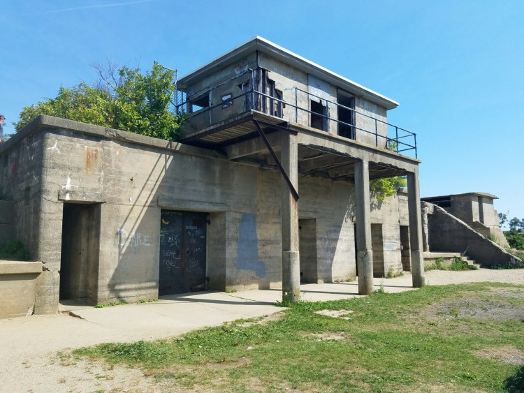Remains of Battery Keyes stand strong at Fort Williams