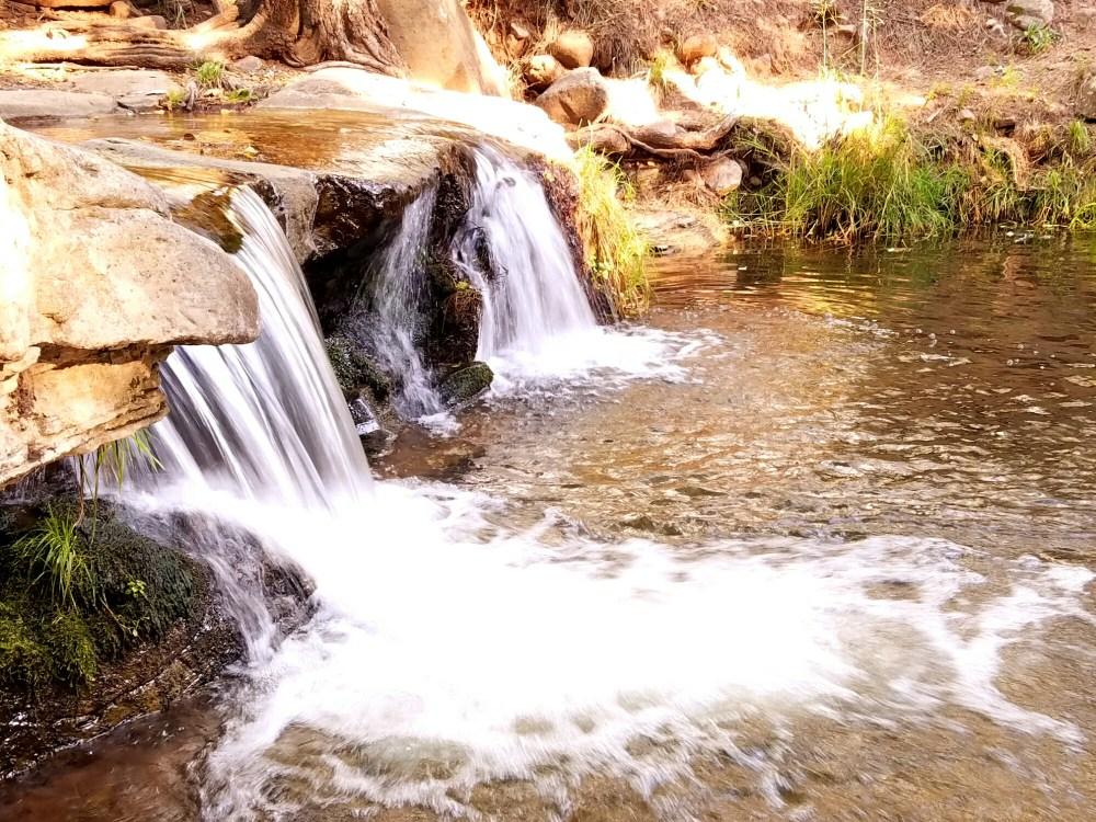 Waterfall on Horton Creek Trail