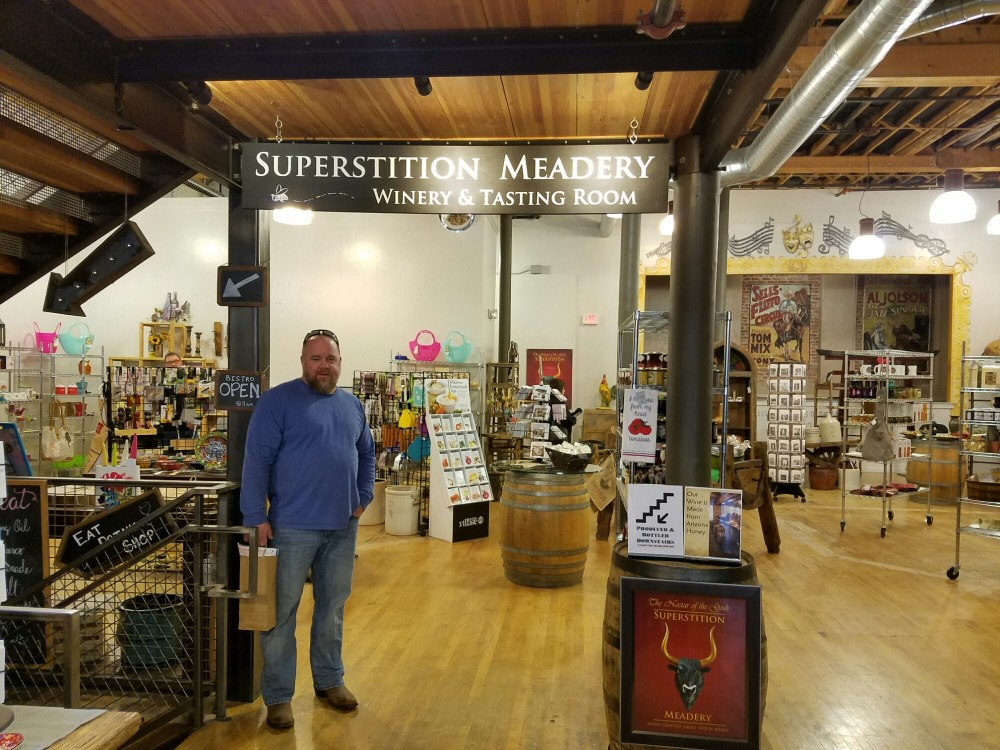Entrance to the Superstition Meadery Tasting Room