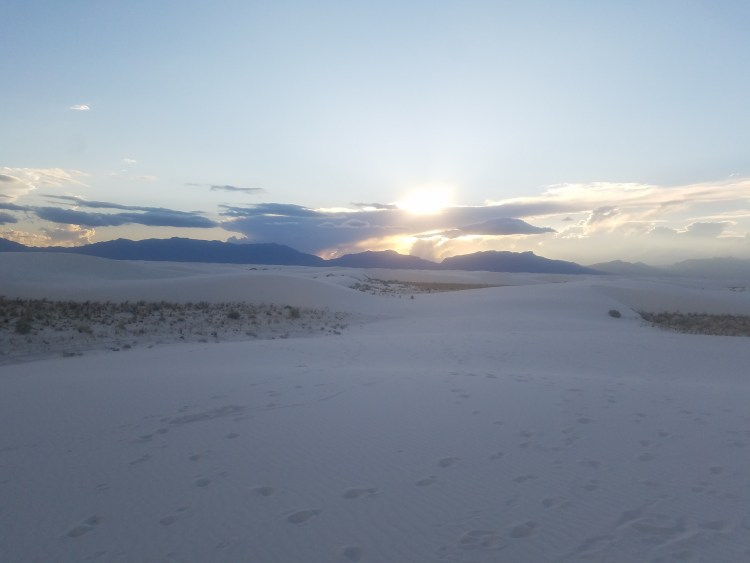Dunes at White Sands National Monument New Mexico