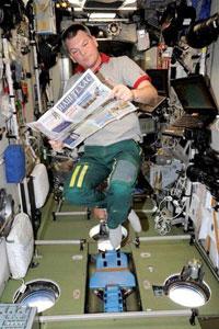 Нас читают даже в космосе