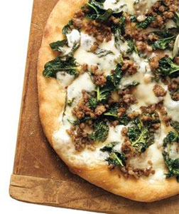 pizza-sausage-spinach