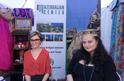 Азербайджанский центр традиционно принимает участие в Турецком фестивале.