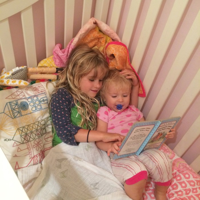 You are the BEST big sister.