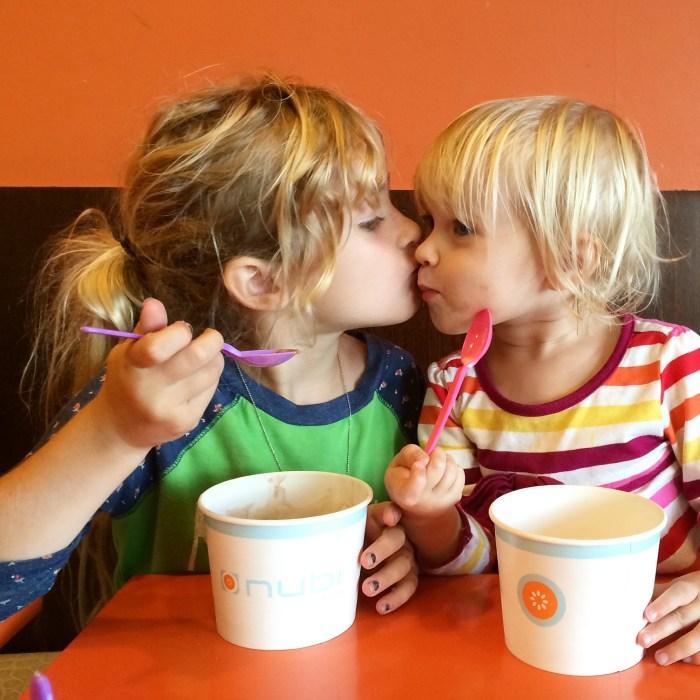 Frozen yogurt!!