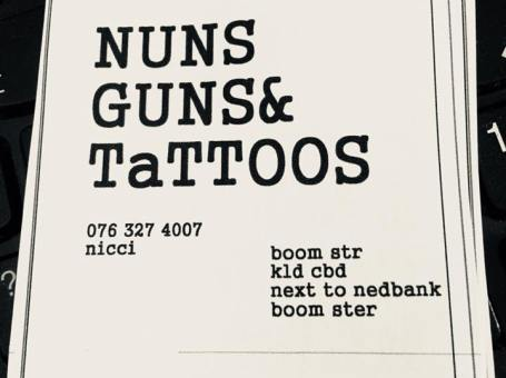 NUNS AND GUNS TATTOO STUDIO