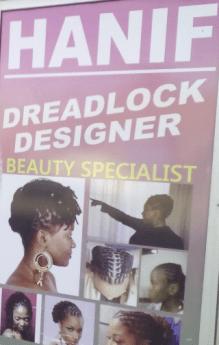 Hanif Dreadlock Designer