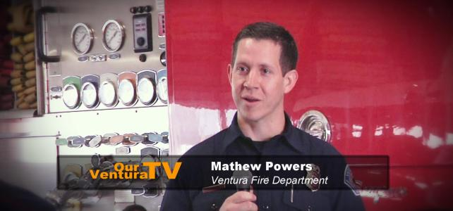 Firefighter Mathew Powers
