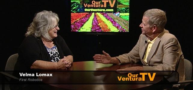 Velma Lomax, First Robotics