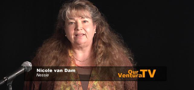 Nicole van Dam, story reading