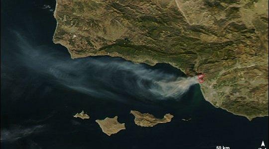 Ventura Fire, Dec 5, 2017