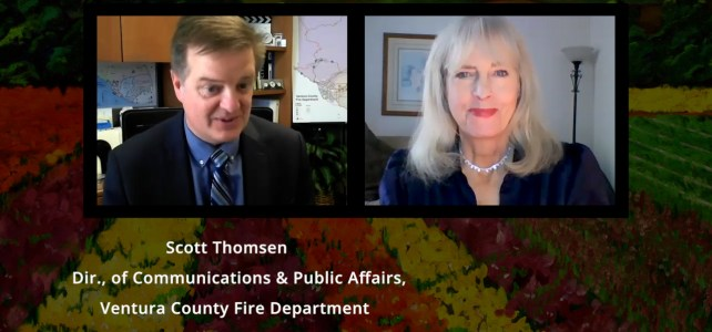 Scott Thomsen, Ventura County Fire Department