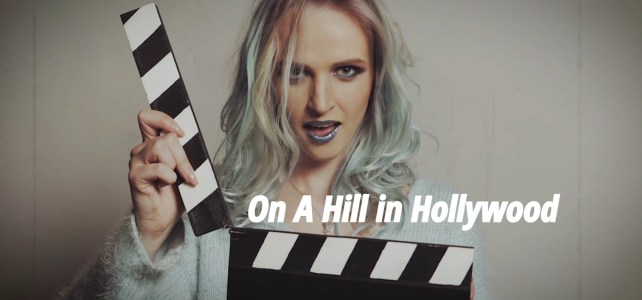 On A Hill In Hollywood, by Hanna Lynn Roth