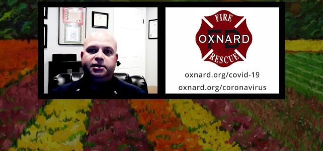 Jaime Villa, EMS Coordinator for the Oxnard Fire Department