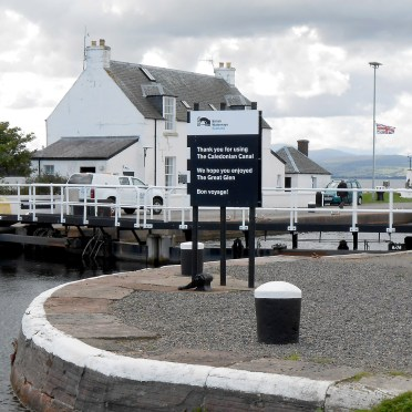 First lock near Inverness at Beauly Firth.