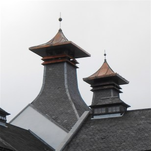 Pagoda chimneys are a common sight. Many are no longer used as the drying of the malt is done off site.
