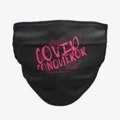 Covid Conqueror Trevor Dow Face Mask Design