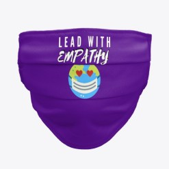 Lead With Empathy Trevor Dow Face Mask