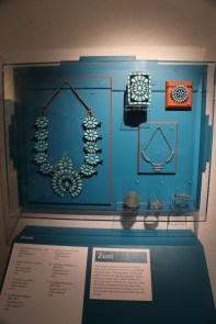 Zuni jewelry, my favorite, famous for using clusters of uniform or graduated turquoise