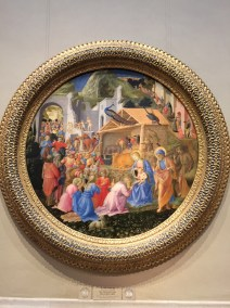 The Adoration of the Magi - Angelico and Lippi