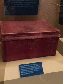 George Washington's chest