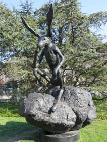 Thinker on a Rock, Barry Flanagan