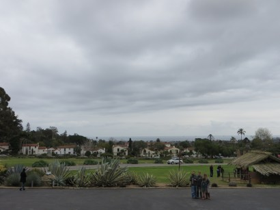 Overlooking Mission Park and the city