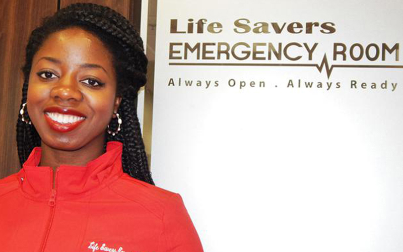 Dr. Foyekemi Ikyaator is a 31-year old Black woman, who has opened up a stand-alone, full-service emergency room in northwest Houston, Texas. (Houston Forward Times) (187846)