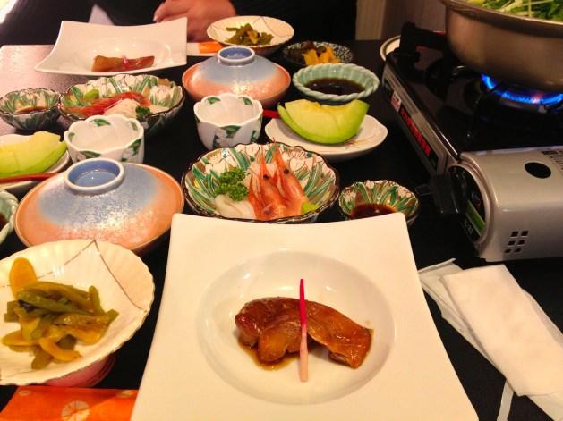 Our shabu-shabu dinner, YUM!