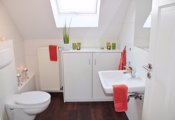 Really Big Storage Solutions for Small Tiny Bathrooms