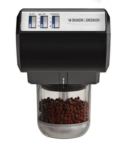 Black & Decker CG700 Spacemaker Multifunction Coffee Grinder & Chopper