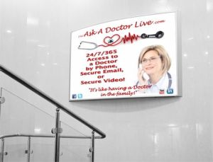 Our World Graphics Doctors Office Banner
