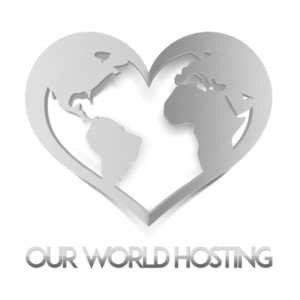 Our World Hosting Logo