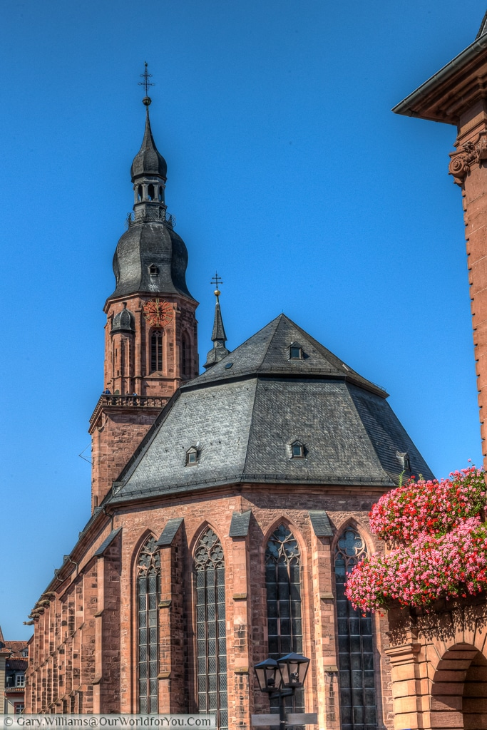 The Church of the Holy Spirit, Heidelberg, Baden-Wurttemberg, Germany