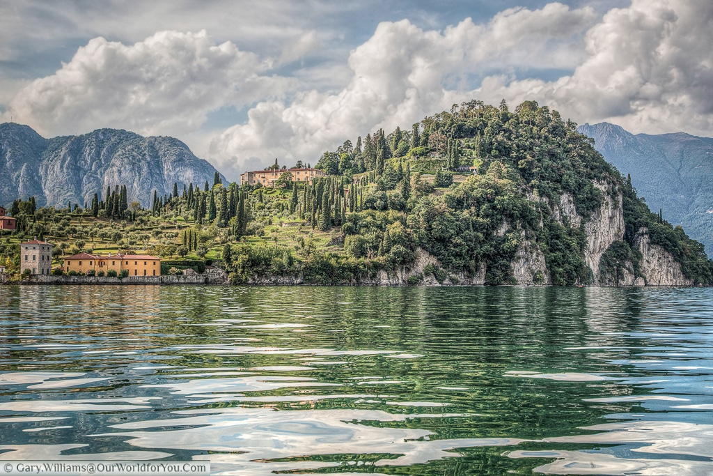 The quieter side of Bellagio, Lake Como, Lombardy, Italy