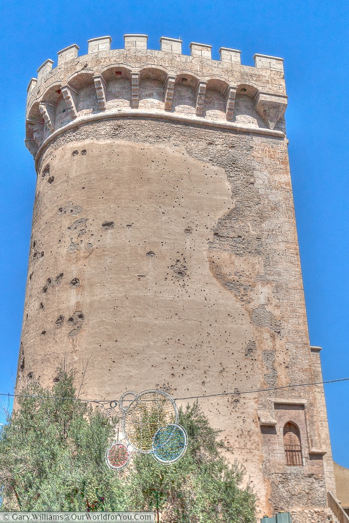 The Torres de Quart, Valencia, Spain