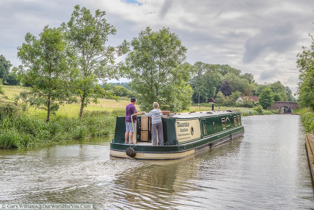 Moonbeam, from Moonraker Canalboats on the Kennet & Avon Canal, England, United Kingdom